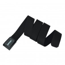 Weight belt with plastic buckle